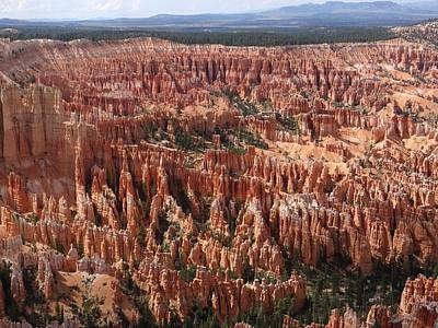 Photograph - Bryce Canyon Amphitheater by Keith Stokes