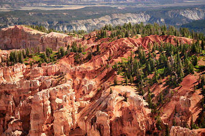 Photograph - Bryce Canyon And Beyond by Ginger Wakem