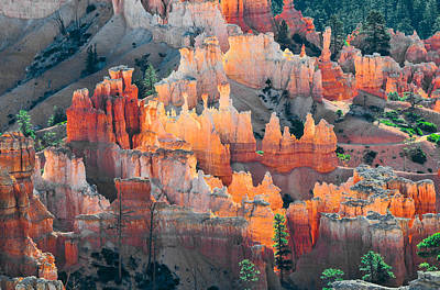 Bryce Canyon At Sunrise Art Print