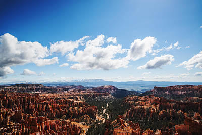 Photograph - Bryce Canyon Clouds And Sky by Vishwanath Bhat