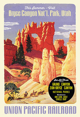 Digital Art - Bryce Canyon by Gary Grayson