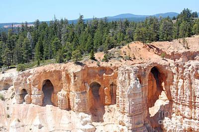 Photograph - Bryce Canyon Hoodoos by Debra Thompson
