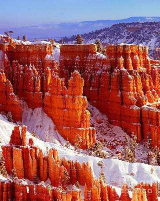 Bryce Canyon In Snow Art Print