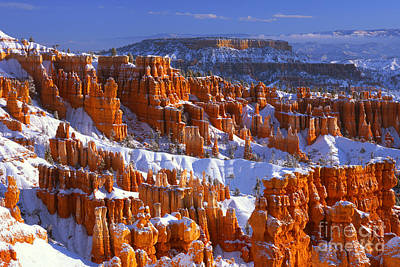 Bryce Canyon In Winter Art Print