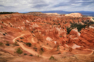 Digital Art - Bryce Canyon by Lori Deiter