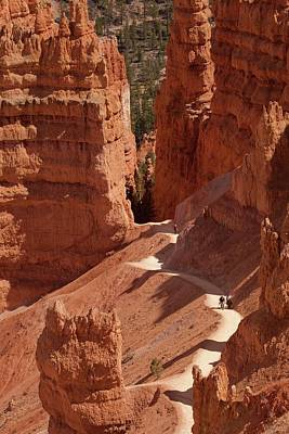 Red Sandstone Photograph - Bryce Canyon National Park by Peter Menzel