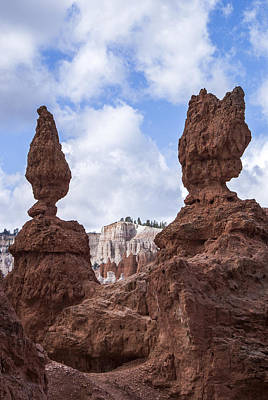 Photograph - Bryce Canyon Scluptures by Arkady Kunysz