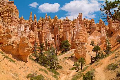 Photograph - Bryce Canyon Spirals 2 by Richard J Cassato