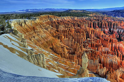 Art Print featuring the photograph Bryce Canyon Sunrise by Dan Myers