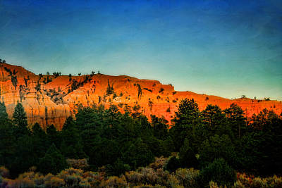 Photograph - Bryce Canyon Sunset by Ellen Heaverlo