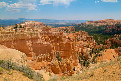 Photograph - Bryce Canyon Valley Walls 2 by Richard J Cassato