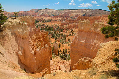 Photograph - Bryce Canyon Valley Walls by Richard J Cassato