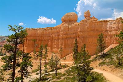 Photograph - Bryce Canyon Walls by Richard J Cassato