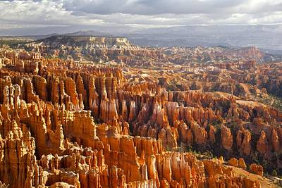 Pinion Photograph - Storm Over Bryce  by Renee Sinatra