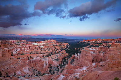 Royalty-Free and Rights-Managed Images - Bryce Sunrise by Darren White