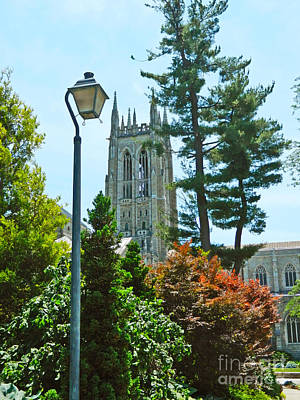 Photograph - Bryn Athyn Cathedral by Val Miller