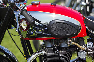 Photograph - Bsa A65 650cc  by Tim Gainey