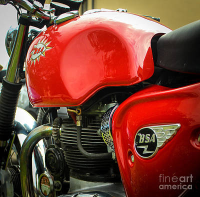 Photograph - Bsa Dimples by Rene Triay Photography