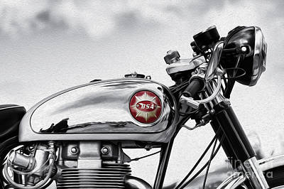 Photograph - Bsa Goldstar by Tim Gainey
