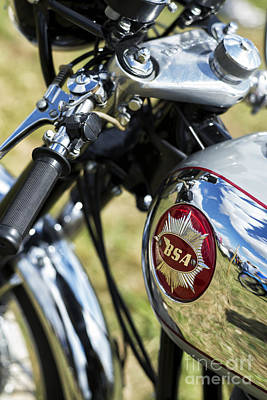 Photograph - Bsa Rocket Gold Star Motorcycle by Tim Gainey