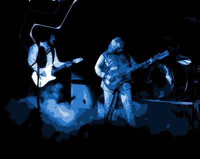 Photograph - Bto In Spokane 1976 Blue Art by Ben Upham