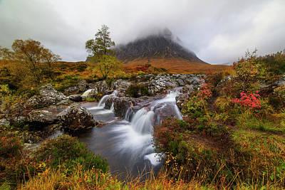 Scotland Landscape Wall Art - Photograph - Buachaille Etive Ma?r by Roberto Marchegiani