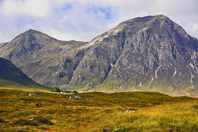 Photograph - Buachaille Etive Mor - Glencoe by Jane McIlroy