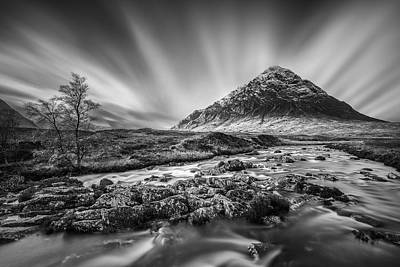 Beautiful Scenery Photograph - Buachaille Etive Mor 2 by Dave Bowman