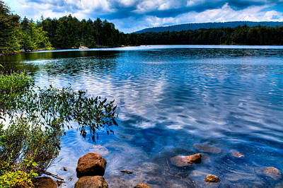 Photograph - Bubb Lake In The Adirondacks by David Patterson