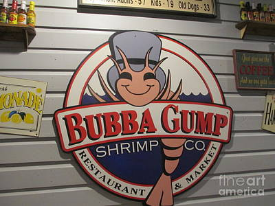 Photograph - Bubba Gump  by Kay Novy