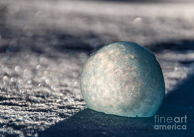 Photograph - Bubble And Shadow by Cheryl Baxter