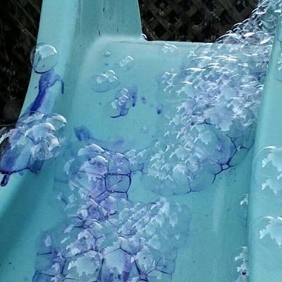 Pop Art Photograph - Fun With Bubble by Roxzano Saxamaph0ne
