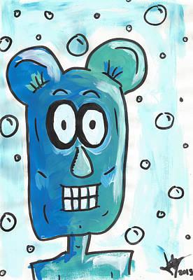 Painting - Bubble Man by Jera Sky