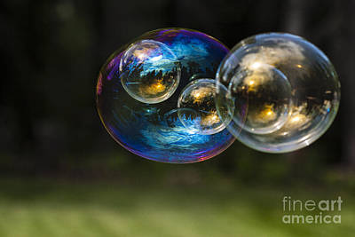 Bubble Perspective Art Print by Darcy Michaelchuk