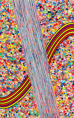 Painting - Bubble Rainbow by Patrick OLeary