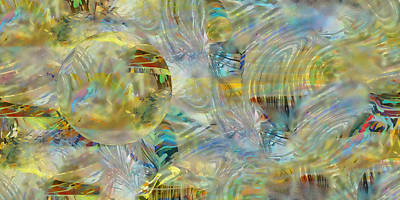 Digital Art - Bubble by rd Erickson