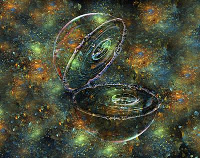 Bubble Sphere II Art Print
