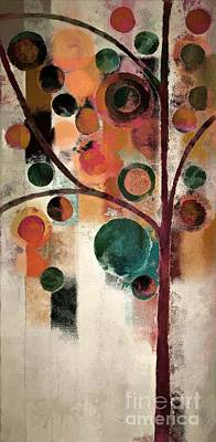 Painting - Bubble Tree - J08688 by Variance Collections