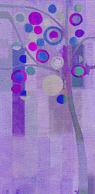 Bubble Tree - S85rc03 Art Print by Variance Collections