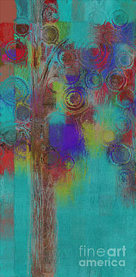 Painting - Bubble Tree - Sped09r by Variance Collections