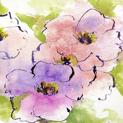 Bubblegum Poppy Art Print