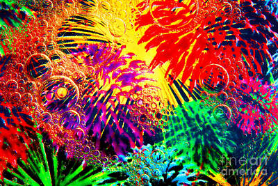 Art Print featuring the photograph Bubbles by Geraldine DeBoer
