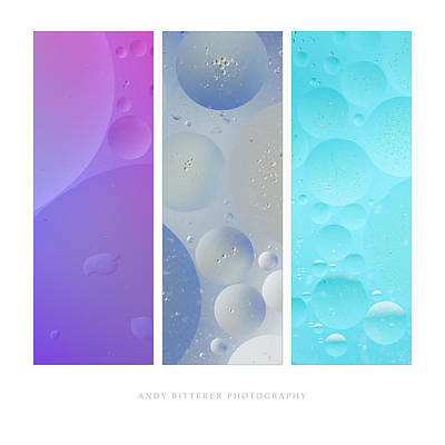 Photograph - Bubbles IIi by Andy Bitterer