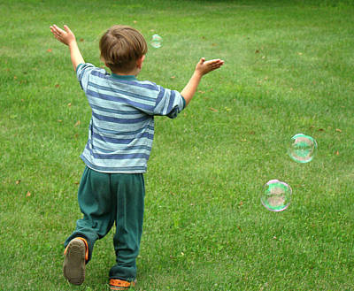 Photograph - Bubbles by Paul Miller