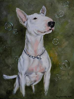Painting - Bubbles by Tony Calleja
