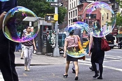 Photograph - Bubblewalk by Heidi Horowitz