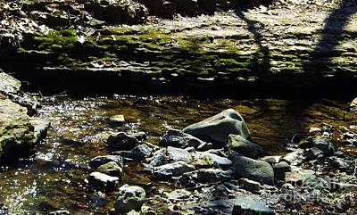 Photograph - Bubbling Brook by Brigitte Emme