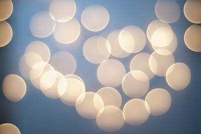 Photograph - Bubbly Bokeh by Christi Kraft
