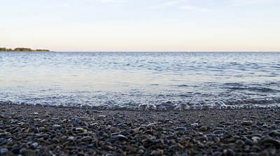 Photograph - Bubbly Wavelets On Lake Ontario by Arkady Kunysz