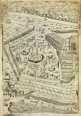 1576 Photograph - Bubonic Plague Quarantine Site by Middle Temple Library